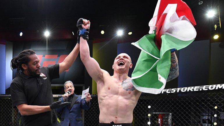 Веттори победил Херманссона вглавном бою UFC Vegas 16