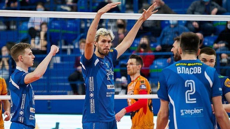 Московское «Динамо»— единственная команда Суперлиги, которая еще непроиграла ниодного матча. Фото ВК «Динамо» Москва