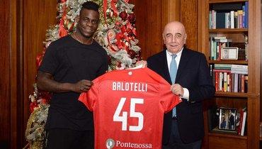 Балотелли стал игроком «Монци»