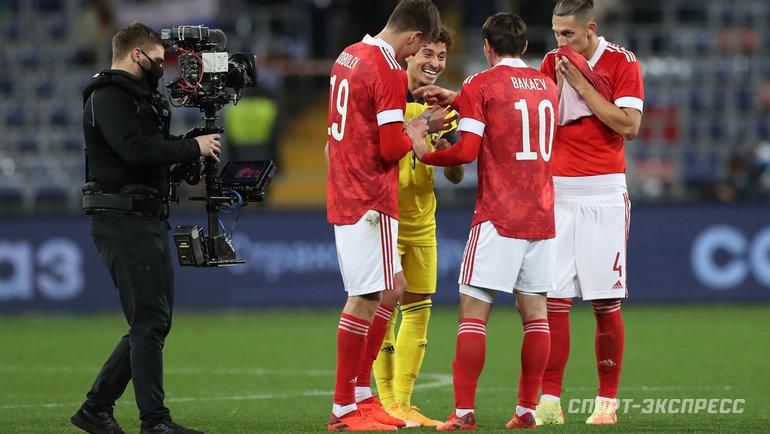 Первый канал покажет два матча сборной России впрямом эфире. Фото Александр Федоров, «СЭ» / Canon EOS-1D X Mark II