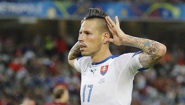 Капитан сборной Словакии заявил, что команда ставит цель пробиться наЧМ-2022