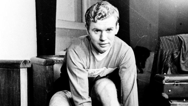 Автор победного гола в финале Олимпиады-1956 Анатолий Ильин.