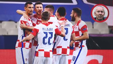 Футболисты сборной Хорватии.