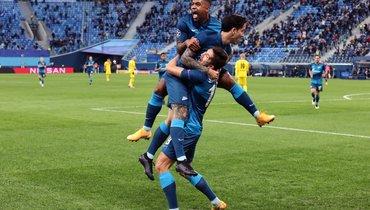 «Зенит»— «Боруссия»: все голы матча