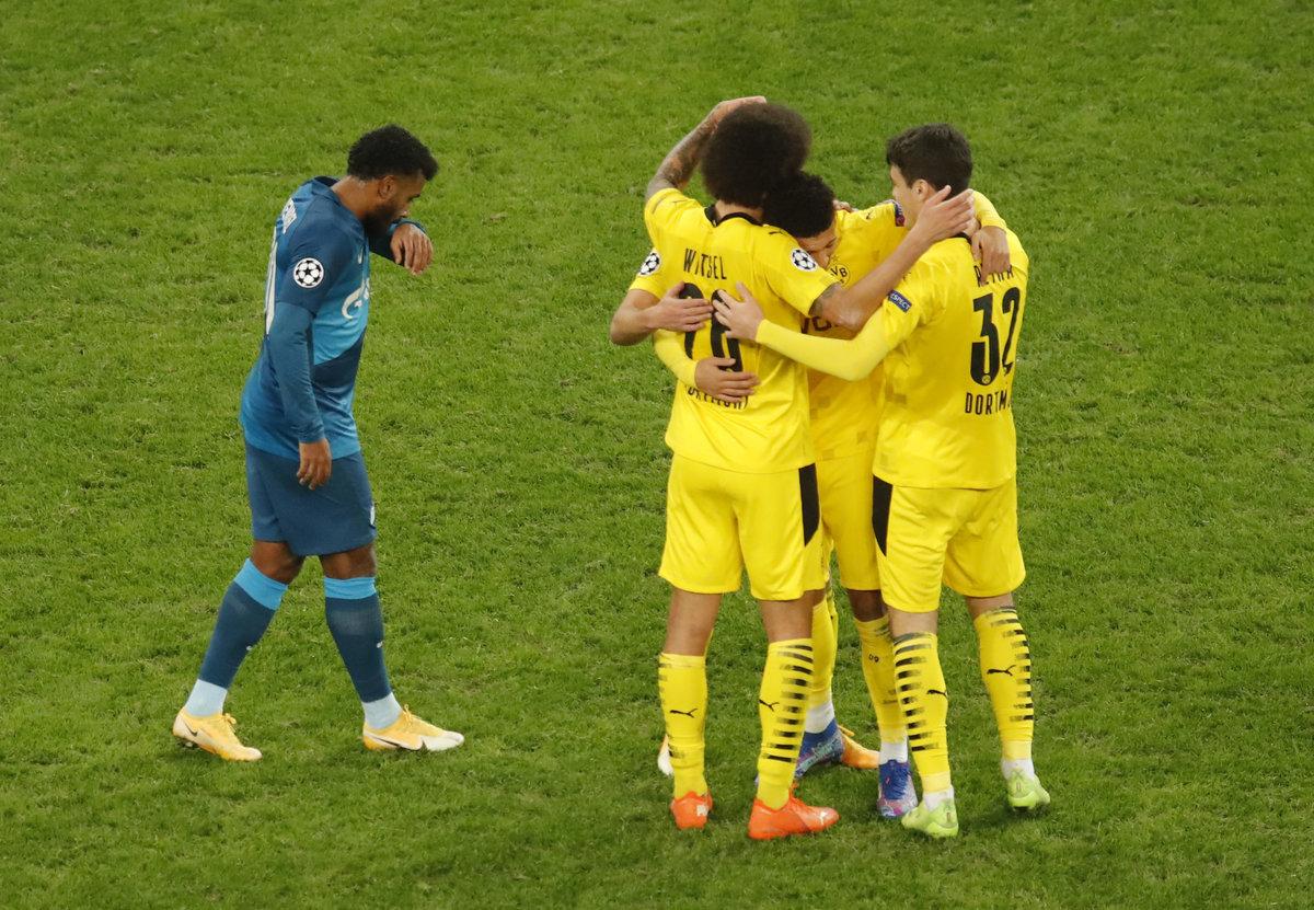 «Зенит» ответил «Спартаку» своими «1-18» вЛиге чемпионов. Хлопнуть дверью неудалось