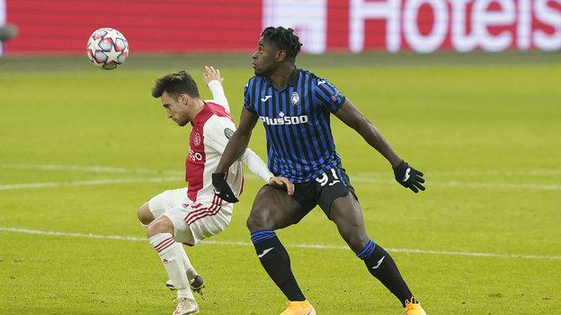 9декабря. Амстердам. «Аякс»— «Аталанта»— 0:1. Фото ФК «Аякс».