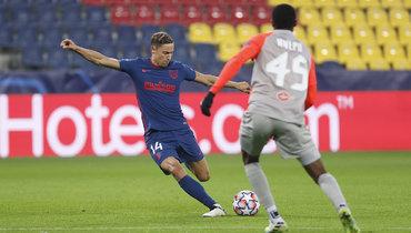 «Атлетико» навыезде переиграл «Зальцбург»