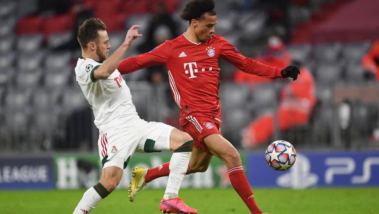 9декабря. Мюнхен. «Бавария»— «Локомотив»— 2:0. Железнодорожники завершили евросезон. Фото Reuters