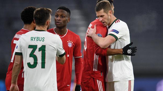 9декабря. Мюнхен. «Бавария»— «Локомотив»— 2:0. Фото Reuters