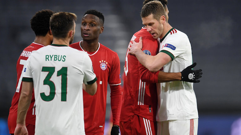 9декабря. «Бавария»— «Локомотив»— 2:0. Фото Reuters