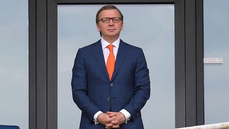 Сергей Палкин. Фото ФК «Шахтер».