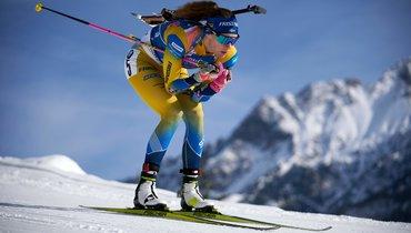 Женский спринт вХохфильцене: Алимбекова выиграла, россиянки непопали вдесятку. Онлайн