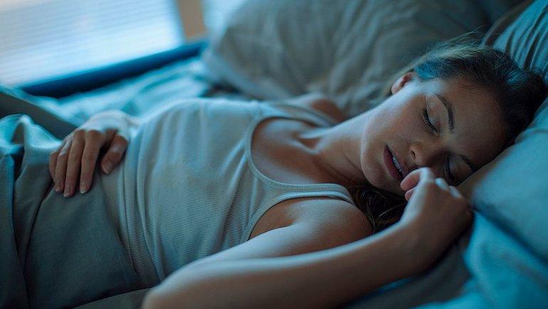 Вовремя сна происходит восстановление организма. Фото AFP
