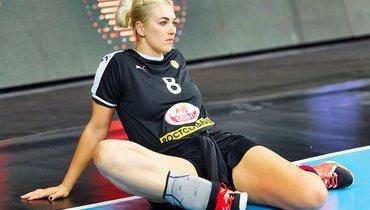 Гандболистка Сень считает, что сборной России надо жестко играть взащите против Дании