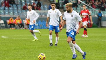 12декабря. Сочи. «Сочи»— «Спартак»— 1:0. Кристиан Нобоа.
