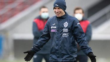 Набабкин провел тренировку сЦСКА перед матчем с «Ростовом»