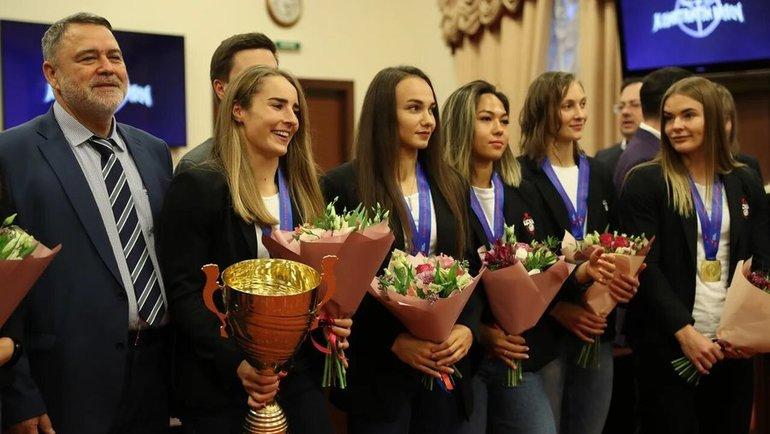 Председатель Высшего совета Федерации регби Игорь Артемьев иженская команда ЦСКА.