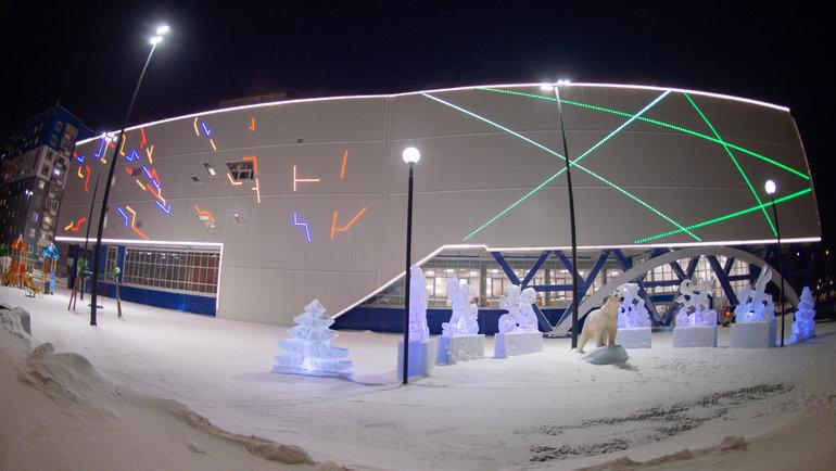 Новый спортивный комплекс «Айка».