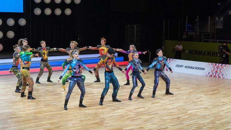 Чемпионат России поакробатическому рок-н-роллу.