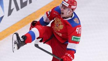 17декабря. Москва. Россия— Швеция— 4:3Б. Андрей Кузьменко.