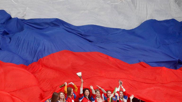 Болельщицы сборной России. Фото Reuters