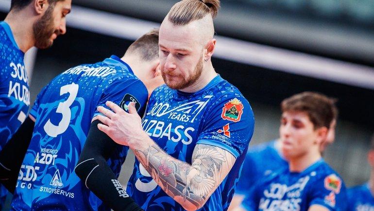 Иван Зайцев. Фото ВК «Кузбасс»