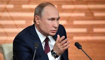 Россия оспорит запрет Путину посещать Олимпиады ичемпионаты мира
