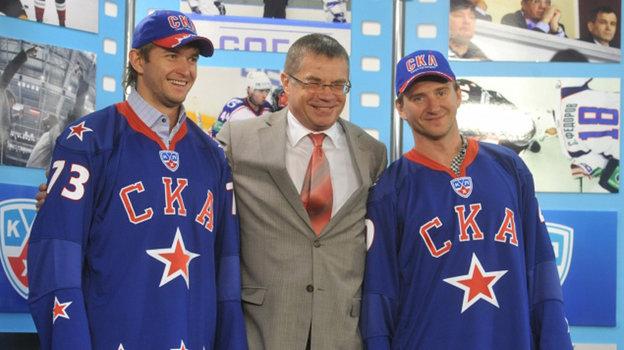 Денис Гребешков, Александр Медведев, Евгений Набоков.