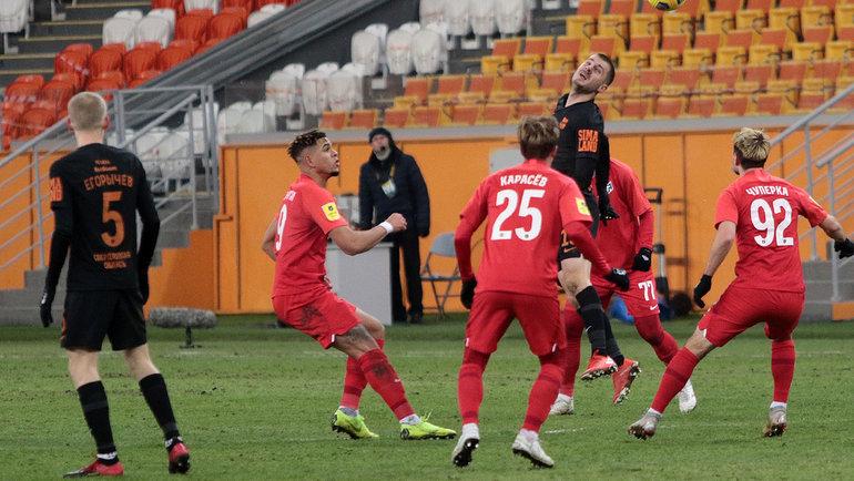 Тамбов» и «Урал» сыграли вничью в заключительном матче года в РПЛ.  Спорт-Экспресс