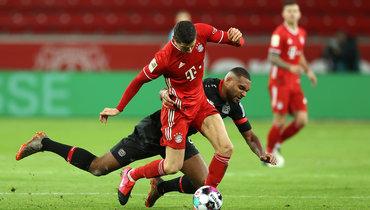 «Бавария» вырвала победу напоследней минуте у «Байера»
