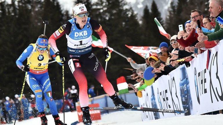Марта Ольсбу Ройселанн. Фото AFP