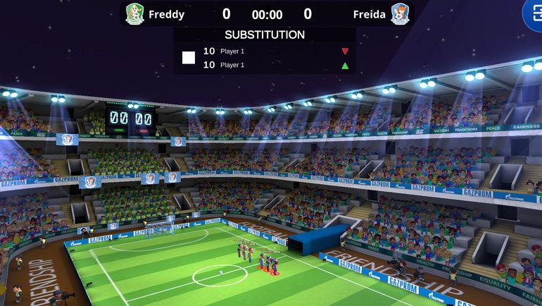Всемирный онлайн-чемпионат мира по «Футболу для дружбы». Фото media.footballforfriendship.com