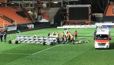 Сотрудник «Лорьяна» умер вбольнице после несчастного случая настадионе