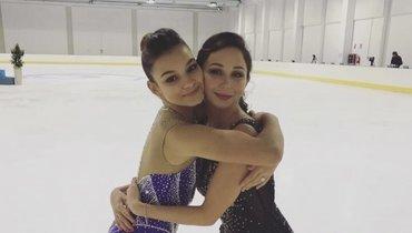 Самодурова показала видео сТуктамышевой: «Нехватает ейфигурного катания»