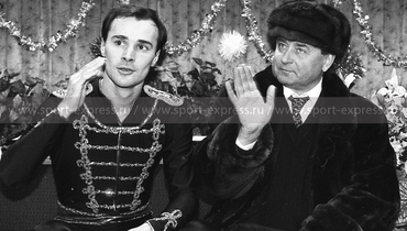 Олег Татауров иАлексей Мишин. Фото Дмитрий Солнцев
