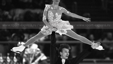 Марина Ельцова иАндрей Бушков. Фото Дмитрий Солнцев