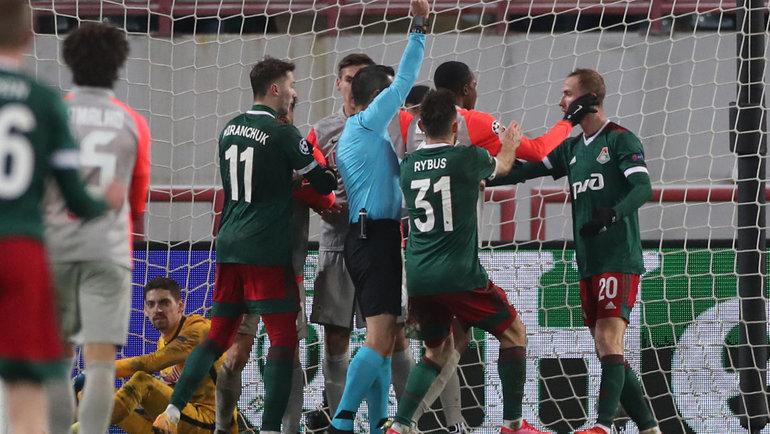 После матча «Локомотива» и «Зальцбурга» может возникнуть еще один скандал. Фото Александр Федоров, «СЭ» / Canon EOS-1D X Mark II