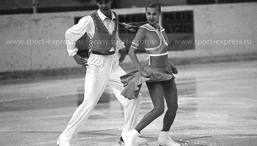 Татьяна Евдокимова иСергей Топоров. Фото Дмитрий Солнцев
