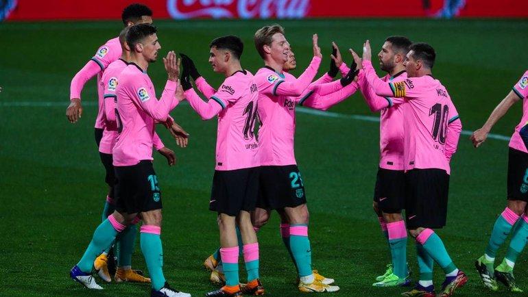 22декабря. «Вальядолид»— «Барселона»— 0:3. Фото Twitter