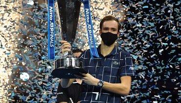 22ноября. Лондон. Даниил Медведев— победитель Итогового турнира ATP.