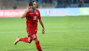 Мхитарян вдесятый раз стал лучшим футболистом года вАрмении
