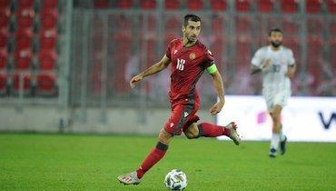 Мхитарян отреагировал напризнание его игроком года вАрмении