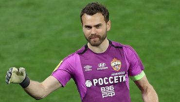 УАкинфеева сыграно больше всех матчей вЛиге чемпионов издействующих российских футболистов