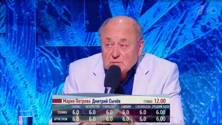 Алексей Мишин. Фото скриншот Первого канала
