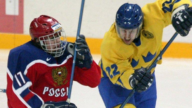 2003 год. Евгений Малкин. Фото Reuters