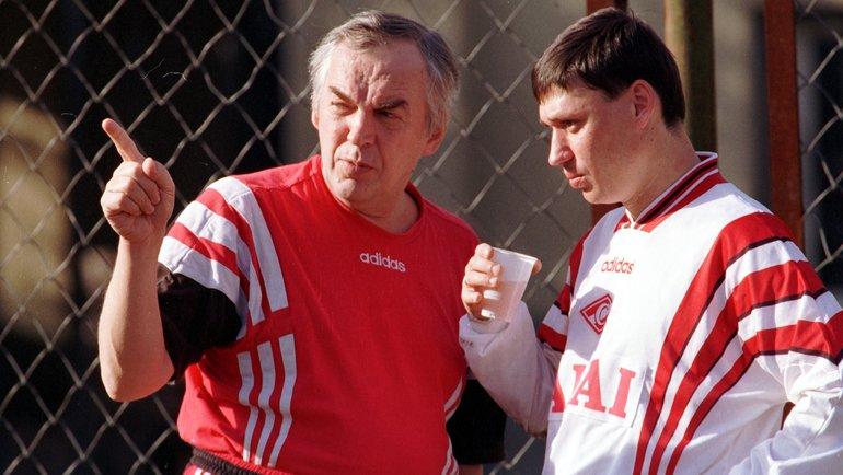 Илья Цымбаларь (справа) иЮрий Васильков. Фото Александр Вильф