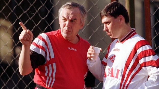 Илья Цымбаларь (справа) и Юрий Васильков. Фото Александр Вильф