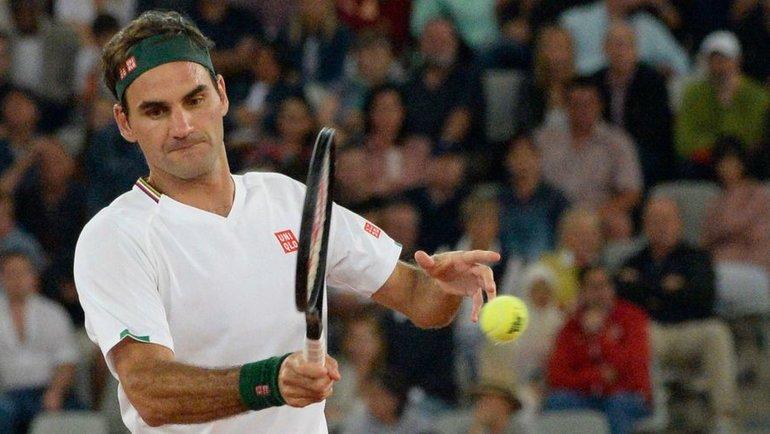 Роджер Федерер. Фото AFP