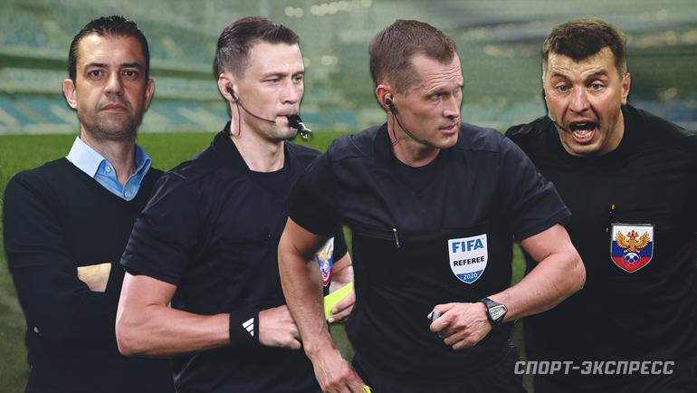 Виктор Кашшаи, Василий Казарцев, Владислав Безбородов, Михаил Вилков. Фото «СЭ»