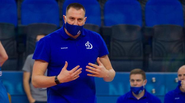 Главный тренер «Динамо» Константин Брянский.
